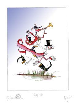 Funny Fox Print - Tally Ho